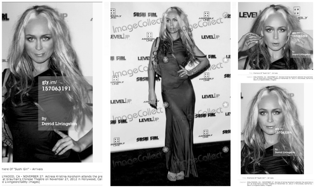 Kk red carpet bw